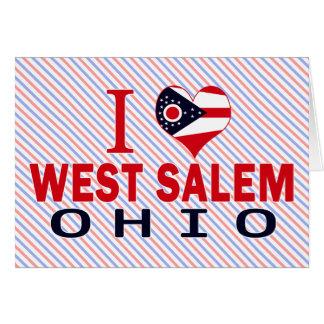 Amo Salem del oeste Ohio Tarjetón