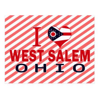 Amo Salem del oeste Ohio Postales