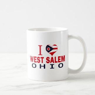 Amo Salem del oeste Ohio Tazas De Café