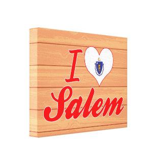Amo Salem, Massachusetts Lona Estirada Galerias
