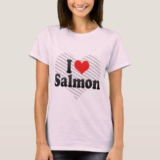 Amo salmones playera