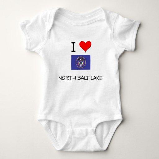 Amo Salt Lake del norte Utah Camiseta