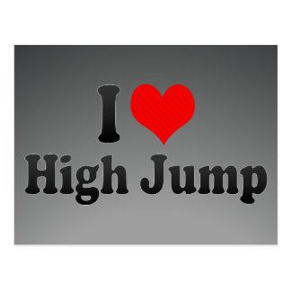 Amo salto de altura postales