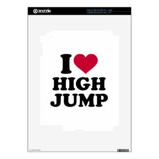Amo salto de altura skin para el iPad 2