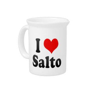 Amo Salto, el Brasil. Eu Amo O Salto, el Brasil Jarron