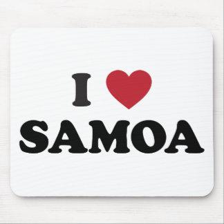 Amo Samoa Tapete De Ratón