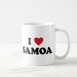 Amo Samoa Taza Clásica