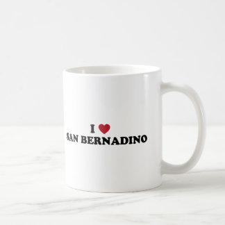 Amo San Bernardino California Taza Clásica
