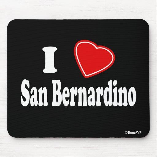 Amo San Bernardino Alfombrilla De Ratón