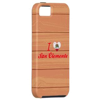 Amo San Clemente, California Funda Para iPhone 5 Tough