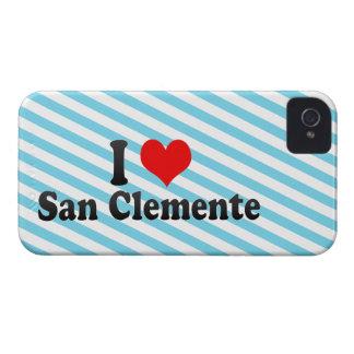 Amo San Clemente, Estados Unidos iPhone 4 Case-Mate Cárcasas