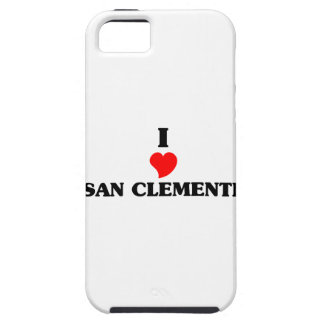 Amo San Clemente Funda Para iPhone 5 Tough