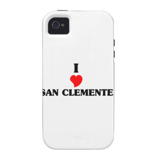 Amo San Clemente iPhone 4/4S Fundas