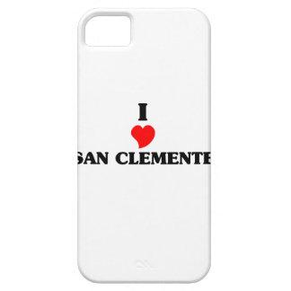 Amo San Clemente iPhone 5 Fundas
