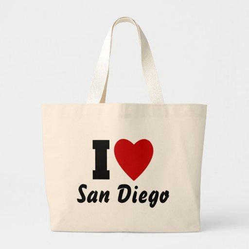 Amo San Diego Bolsa De Mano