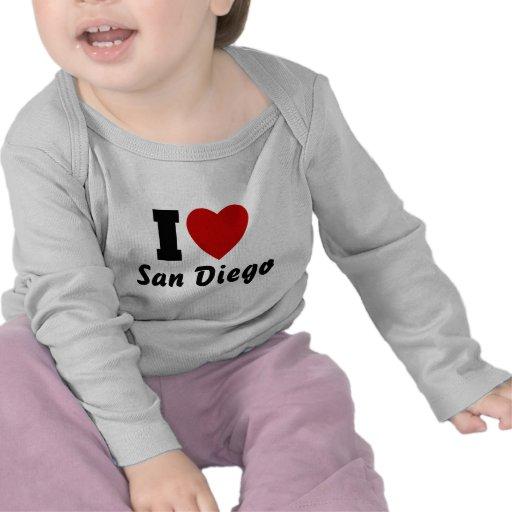 Amo San Diego Camiseta