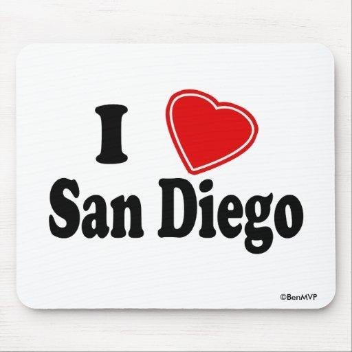Amo San Diego Tapete De Raton