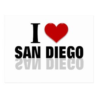 Amo San Diego Tarjetas Postales