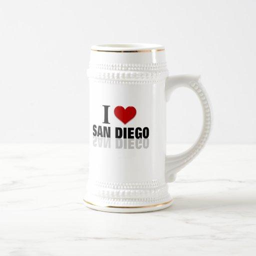 Amo San Diego Tazas De Café