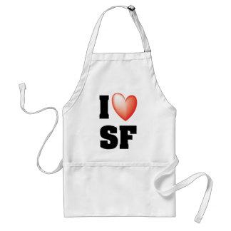 Amo San Francisco Delantales