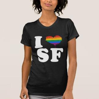 AMO SAN FRANCISCO GAY - BLANCO - .PNG CAMISETAS