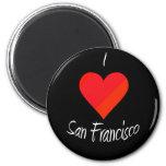 Amo San Francisco Imán De Frigorífico