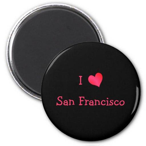 Amo San Francisco Imán Redondo 5 Cm