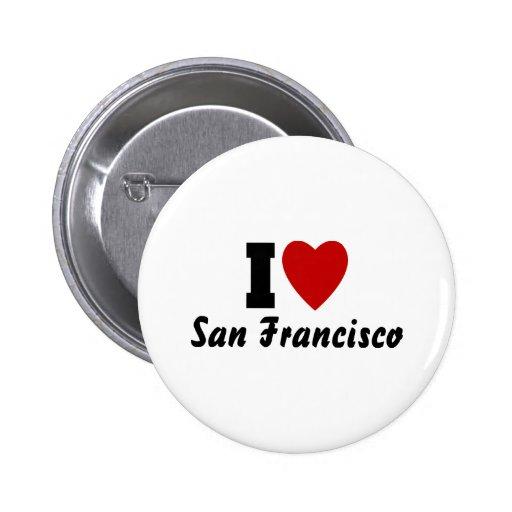 Amo San Francisco Pin Redondo 5 Cm