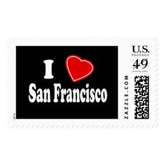 Amo San Francisco Sellos Postales