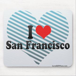 Amo San Francisco Tapete De Ratón