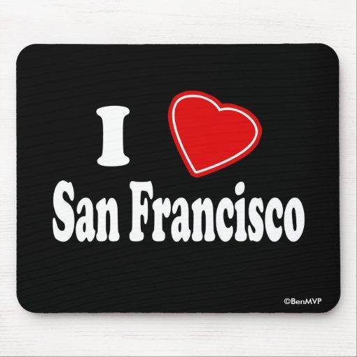 Amo San Francisco Tapetes De Ratones