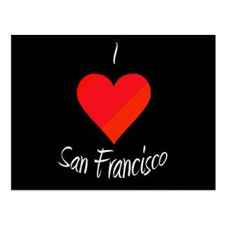 Amo San Francisco Tarjetas Postales