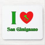 Amo San Gimignano Italia Alfombrilla De Raton