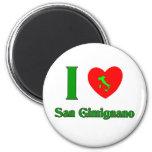 Amo San Gimignano Italia Imanes