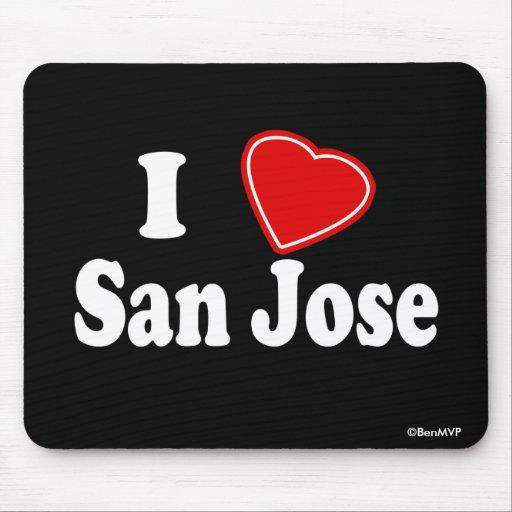 Amo San Jose Alfombrillas De Ratón