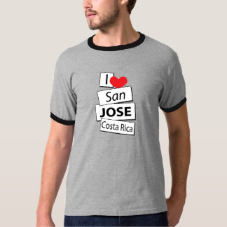 Amo San Jose Costa Rica Playera