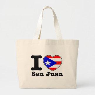 Amo San Juan Bolsa Tela Grande