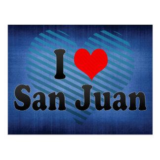 Amo San Juan, la Argentina Tarjeta Postal