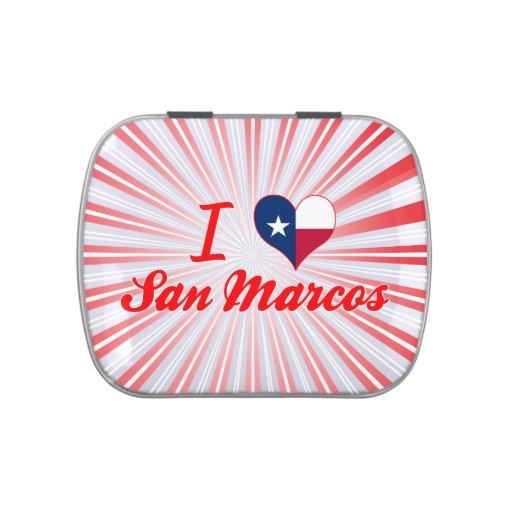 Amo San Marcos, Tejas Jarrones De Caramelos
