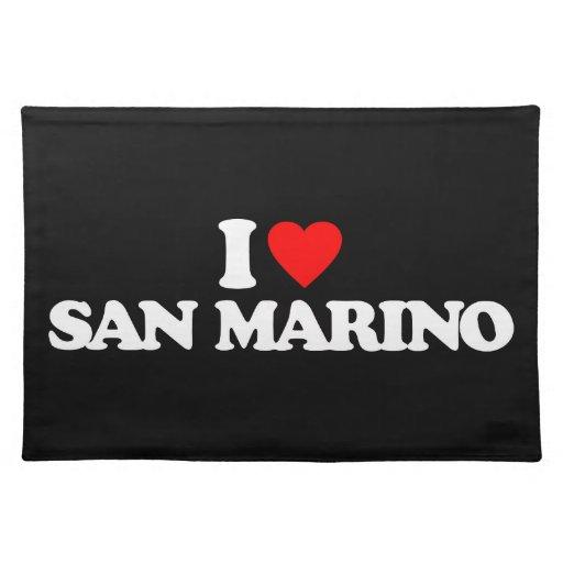 AMO SAN MARINO MANTEL INDIVIDUAL