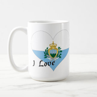 Amo San Marino Taza Clásica