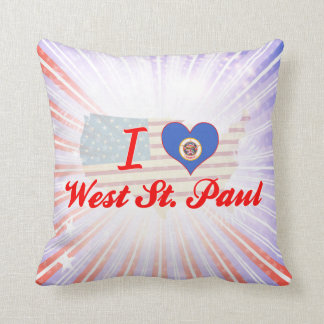 Amo San Pablo del oeste, Minnesota Cojin