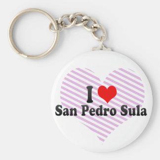 Amo San Pedro Sula Honduras Llavero Personalizado