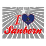 Amo Sanborn, Dakota del Norte Postal