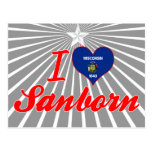 Amo Sanborn, Wisconsin Postal
