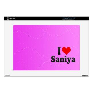 Amo Saniya Calcomanía Para Portátil