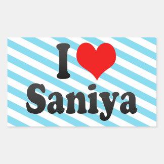 Amo Saniya Etiqueta