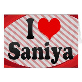 Amo Saniya Felicitaciones
