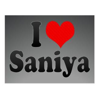 Amo Saniya Tarjetas Postales