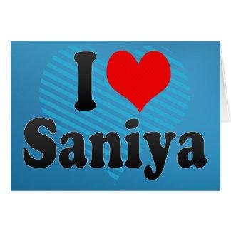 Amo Saniya Tarjeton